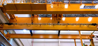 Custom Engineered<br>Overhead Cranes