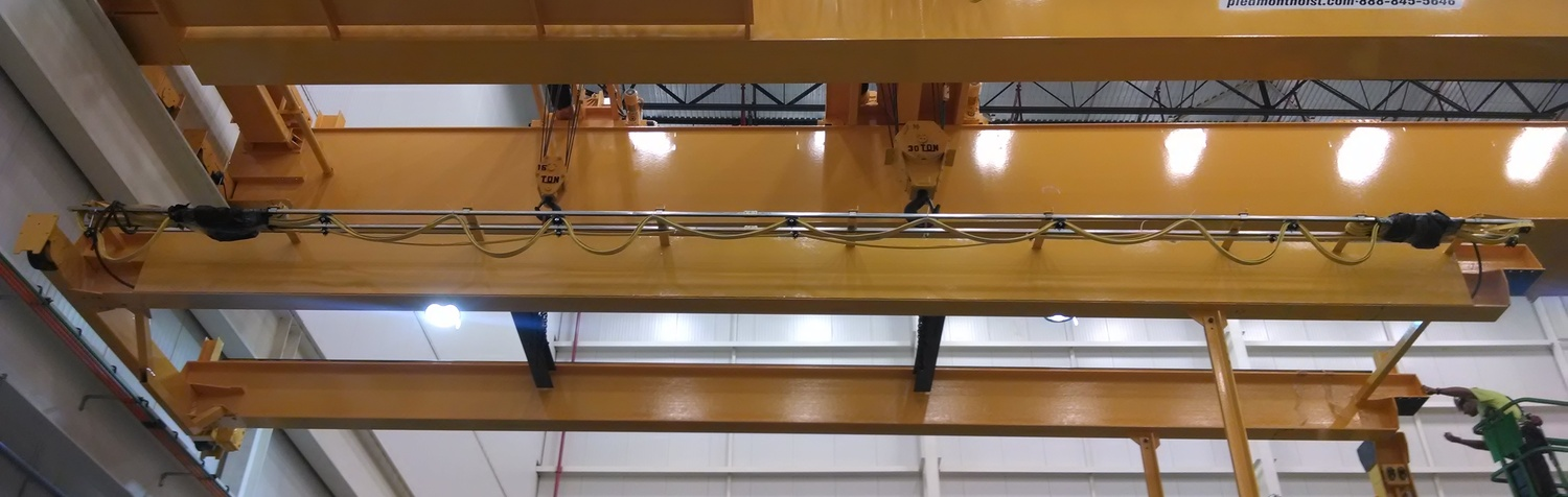 Overhead industrial cranes and hoists