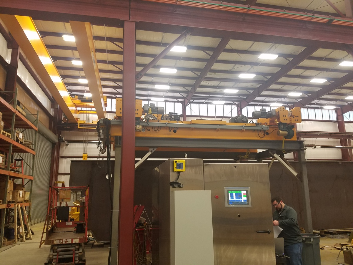 Building a new overhead hoist